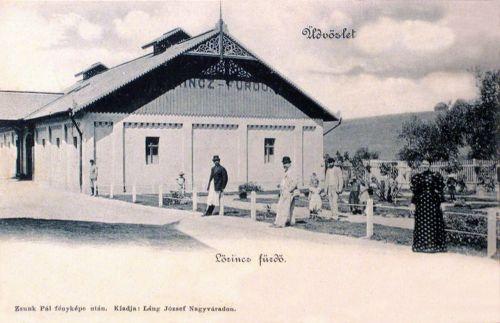 Püspökfürdő:Lőricz fürdő.1901