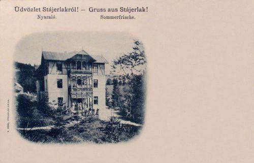 Stájerlak:nyaraló.1901