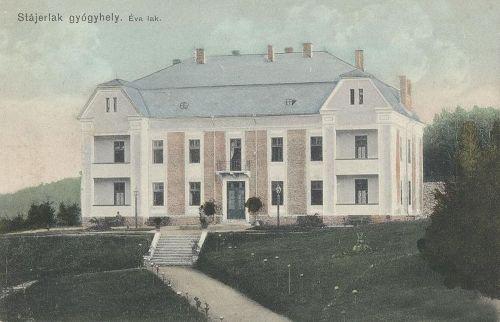 Stájerlak:Éva lak.1910