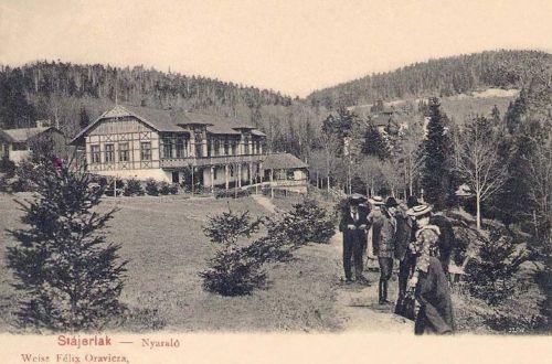 Stájerlakanina-Anina-Steierdorf:nyaraló.1903