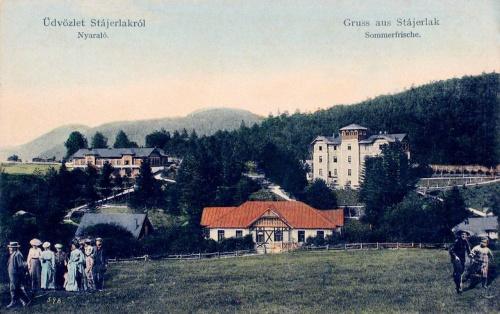 Stájerlakanina:villák,nyaralók.1909
