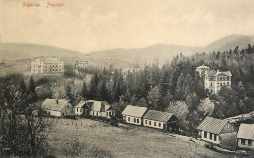 Stájerlak:látkép a villákkal.1914