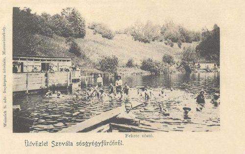 Szováta-sósgyógyfürdő:Fekete sostó.1902