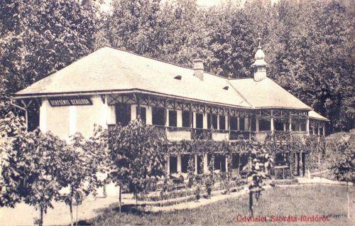 Szovátafürdő:Bercsényi szálloda.1909
