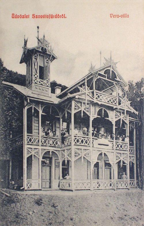 Szovátafürdő:Vera villa.1908