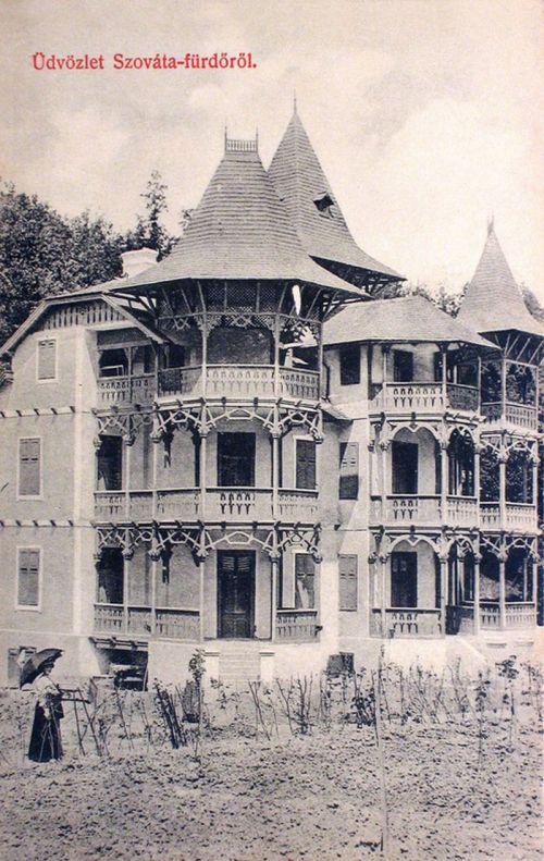Szováta-fürdő:villa részlet.1909