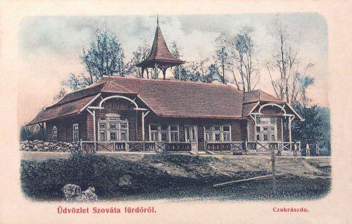 Szováta-Sovata:cukrászda.1900