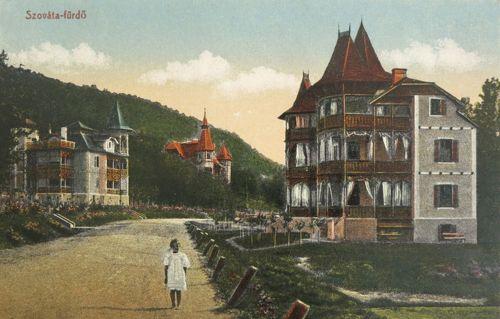 Szováta:villák.1913