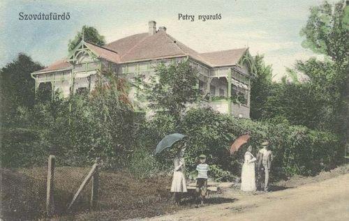 Szovátafürdő:Petry nyaraló.1912