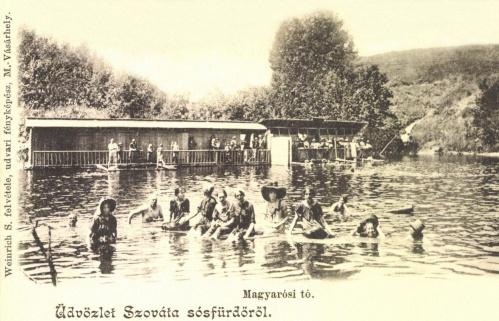 Szováta:Magyarósi tó,1905.
