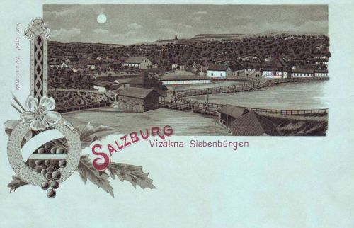 Vizakna-Ocna Sibiului-Salzburg:fürdő látképe.1898
