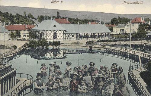 Vizaknakfürdő:Mikes tó.1909