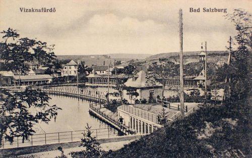 Vizakna:látkép a tóval.1915