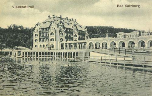 Vizakna:Hotel és étterem.1914