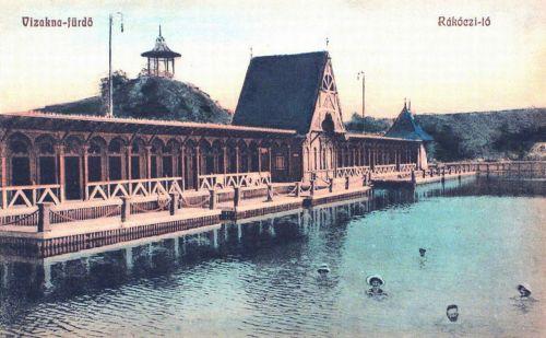 Vizakna fürdő:Rákóczi tó.1908