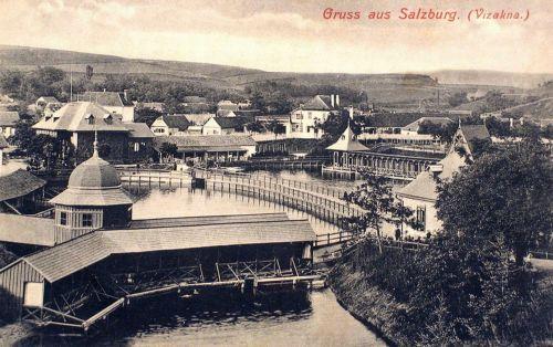 Vizakna:látkép a tavakkal.1909