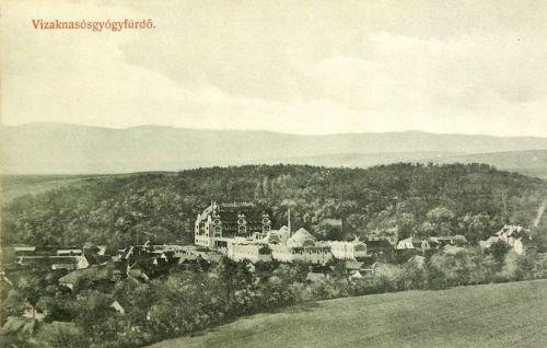 Vizakna:a fürdő látképe.1910