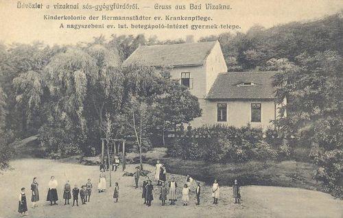 Viyakna>Betegápoló Intézet gyermek telepe.1916