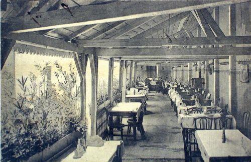 Vizakna:étterem terasza.1907