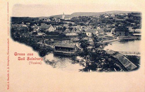 Vizakna:fürdő látképe.1902