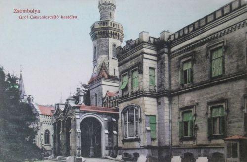 Zsombolya:Csekonics kastély.1909