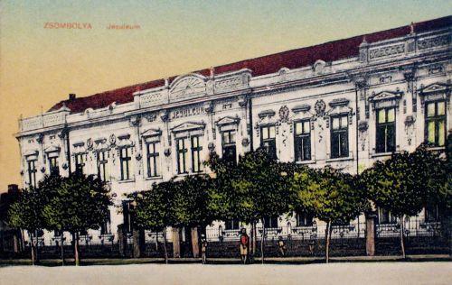 Zsombolya:irgalmas nővérek intézete,elemi iskola,árvaház.1915