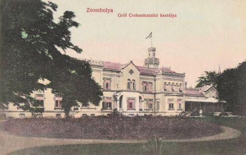 Zsombolya:gróf Csekonics kastély.1908