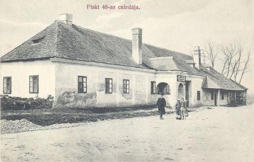Piski:csárda 1848-ból.1907