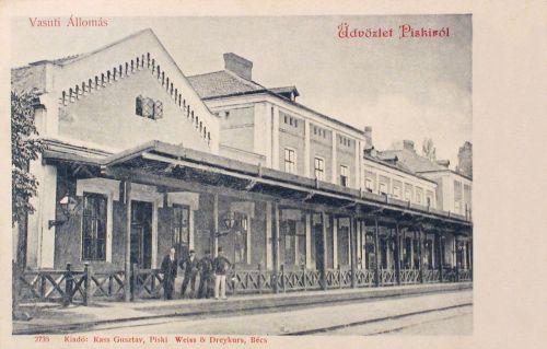 Piski:vasúti állomás.1902