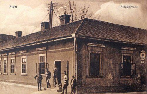 Piski:postahivatal.1914