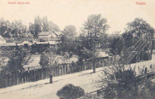 Piski:pályaudvar.1909