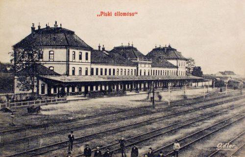 Piski:vasúti állomás.1908
