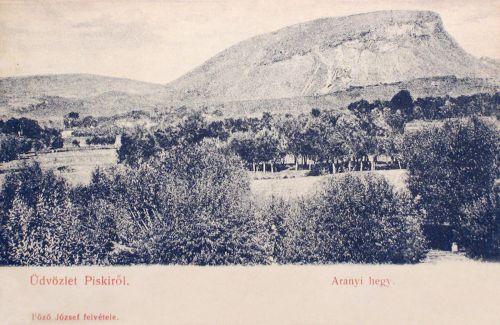 Piski:arany hegy.1905