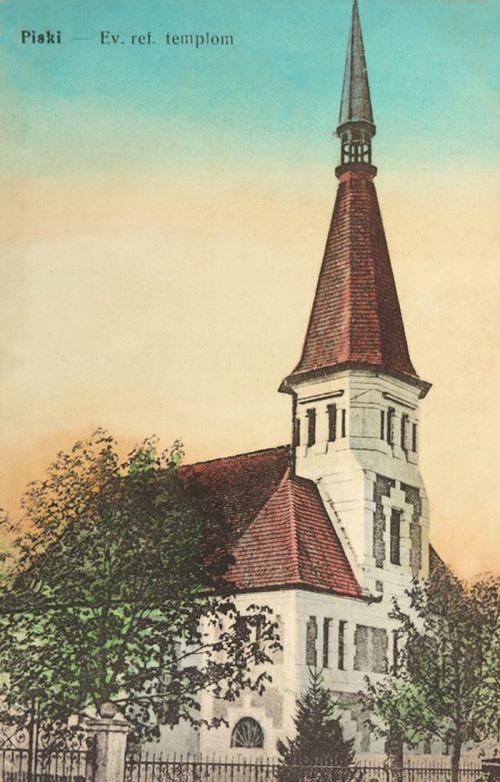 Piski:református templom.1916