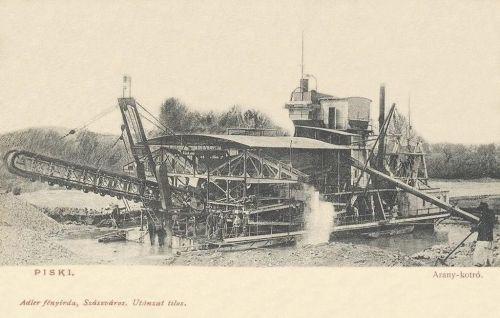 Piski:arany kotró hajó.1904