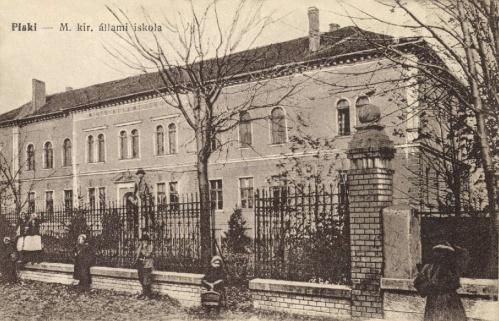 Piski:Magyar Királyi Állami iskola,1916.