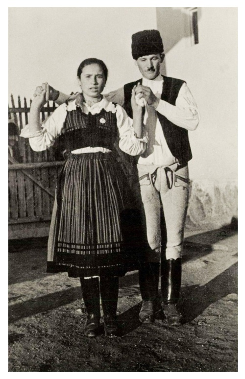 Csiki gólyástánc,1942.