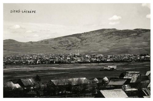Ditró:látkép,1941.