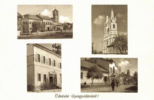 Ditró:templomok és üzletek,1944.