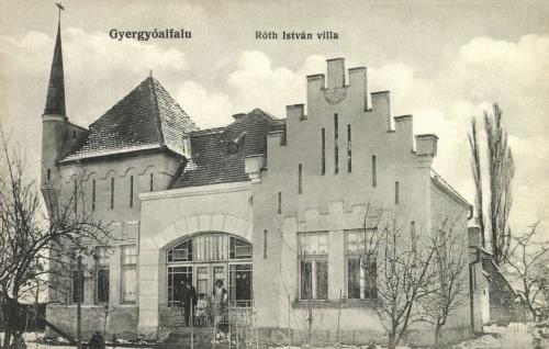 Gyergyóalfalu:Róth István villa,1912.
