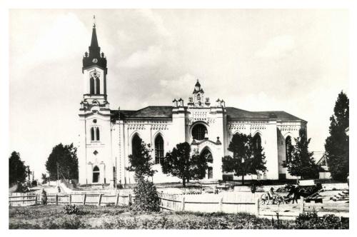 Gyergyócsomafalva:katolikus templom,1942.