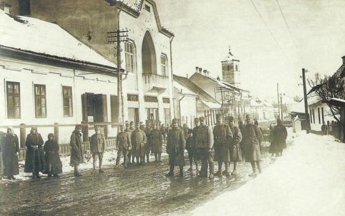 Gyergyóditró:31 hadosztály parancsnoksága,1917.