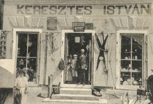 Gyergyóditró:Keresztes István vegyeskereskedése,1907.
