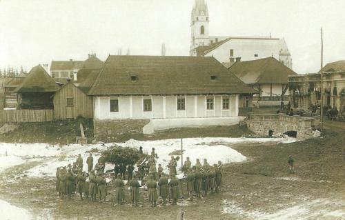 Gyergyóditró:térzene,1917.
