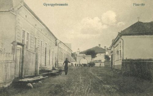 Gyergyóremete:piac tér,1917.