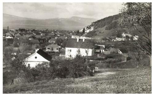 Gyergyószárhegy:látkép,1942.
