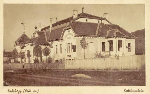 Gyergyószárhegy:Kultúrpalota,közbirtokossági székház,1943.