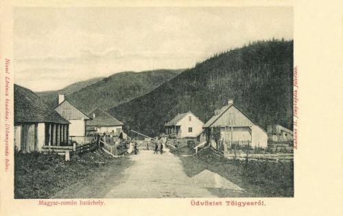 Gyergyótölgyes-Tulghes:magyar román határ,1903.