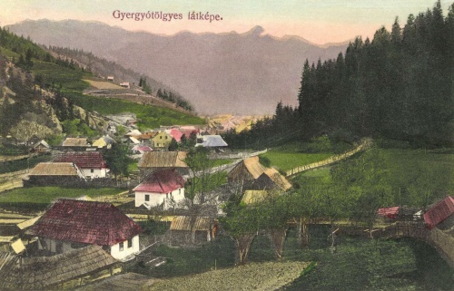 Gyergyótölgyes:látkép,1915.