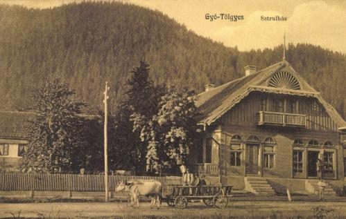Gyergyótölgyes:Strul ház az üzlettel,1912.